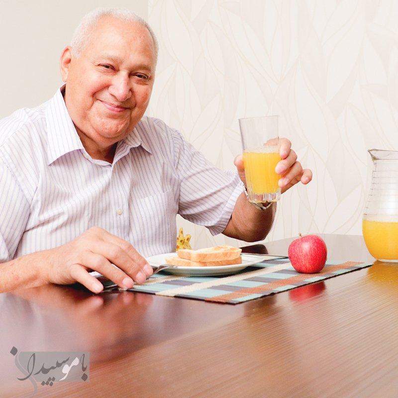 نیازهای تغذیه سالمندان