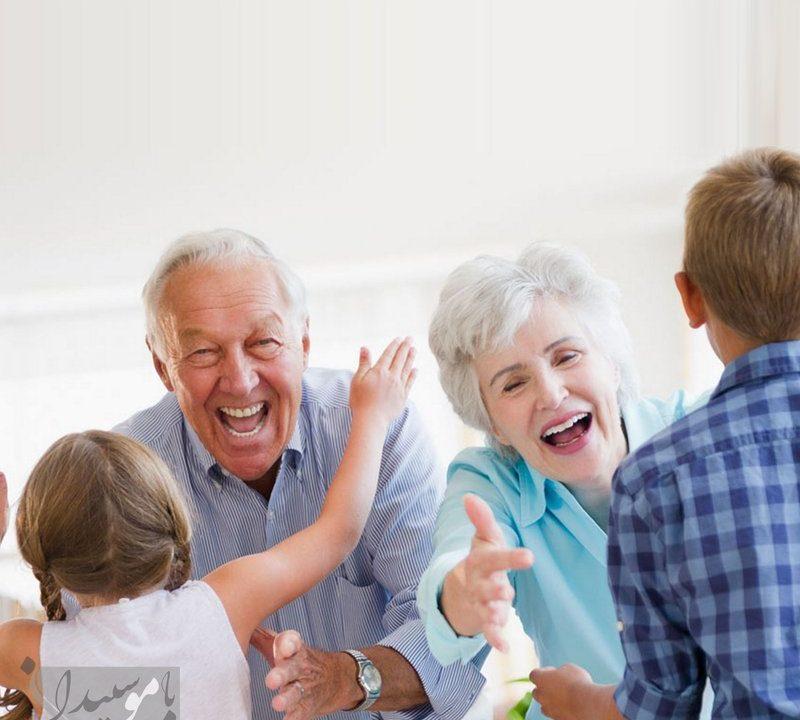 سالمندان شاد
