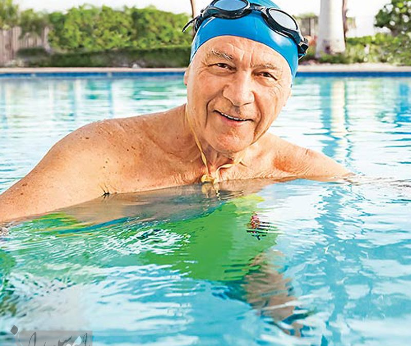 مزایای ورزش شنا برای سالمندان