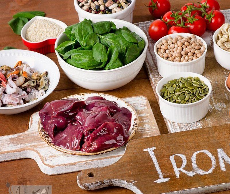 تغذیه مناسب برای افراد کم خون