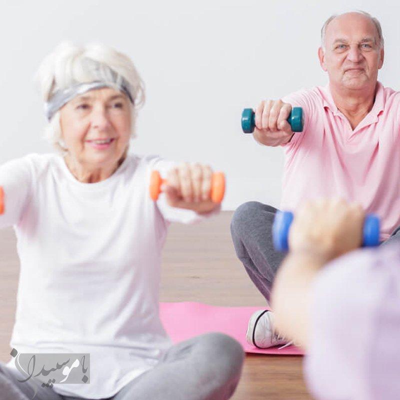 ورزش مناسب برای سالمندان