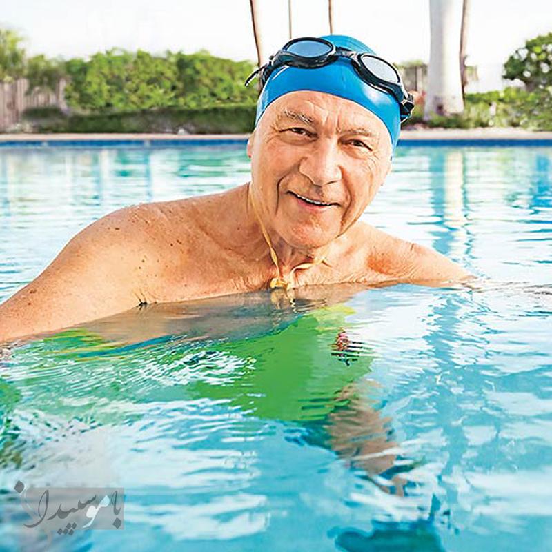 مزایایی ورزش شنا برای سالمندان